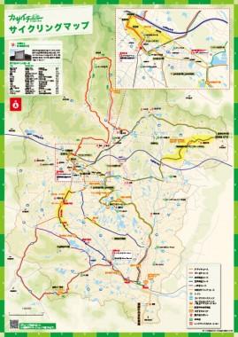 加西市サイクリングマップ「カサイチ」裏